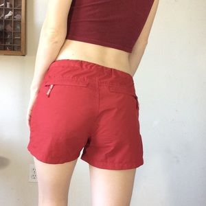 Guess Shorts - Vintage GUESS Athletic Board Shorts Red